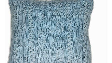 Polštářek, modré vlákno by Loom In Bloom