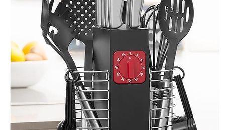 Sada Kuchyňských Potřeb s Organizérem a Časovačem Cook DLux 24 částí