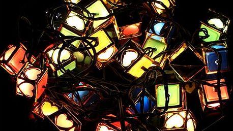 LED světýlka ve vánočním stylu - 28 ks