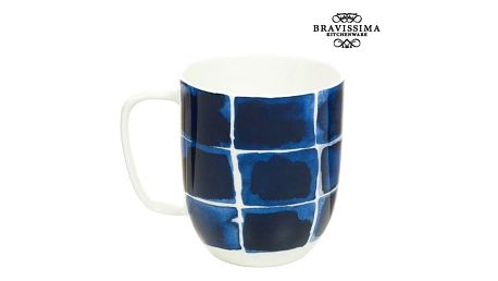 Cup Porcelán Trgovi Plavi - Kitchens Deco Kolekce by Bravissima Kitchen
