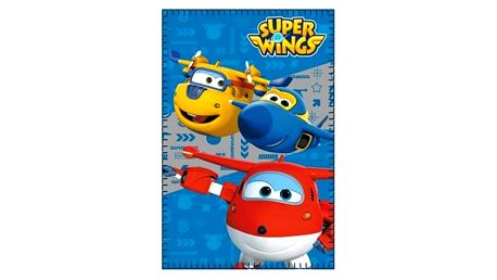 Flaušová deka Super Wings 587