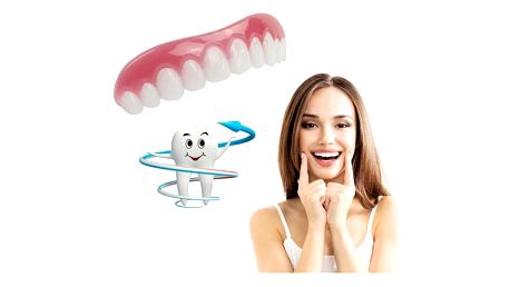 Krycí bílé zuby Perfect Smile