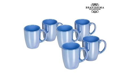 Set of jugs China crockery Modrý 6 pcs - Kitchens Deco Kolekce by Bravissima Kitchen
