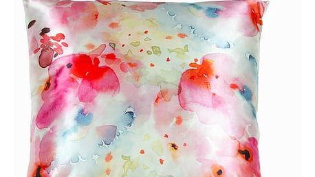 Polyesterový polštářek s květinami by Loom In Bloom