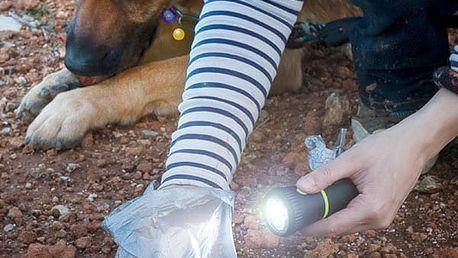 Zásobník na Sáčky na Psí Exkrementy s Baterkou MyPet Poop Lantern