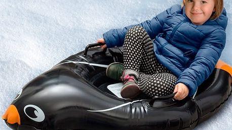 Nafukovací Kluzák na Sníh Tučňák