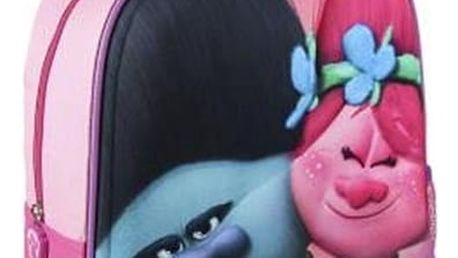 Školní batoh 3D Trolls 040