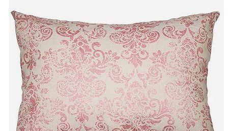 Polštářek Růžový 50 x 70 cm - Cities Kolekce by Loom In Bloom
