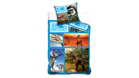 Carbotex povlečení Animal Planet - Dinosauři 140x200 70x80, 140 x 200 cm, 70 x 80 cm