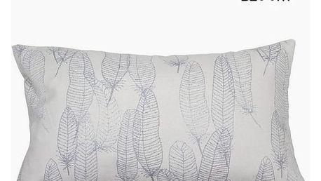 Polštářek Peří Přírodní 50 x 30 cm - Jungle Kolekce by Loom In Bloom