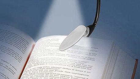 LED Lampička na Čtení s Klipsem