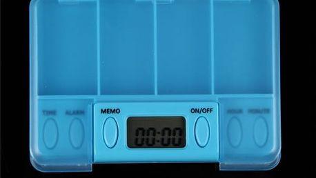 Inteligentní box na léky s budíkem