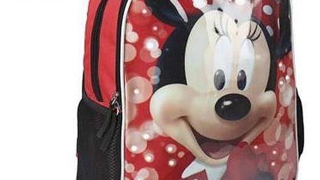 Školní batoh s LED Minnie Mouse 907