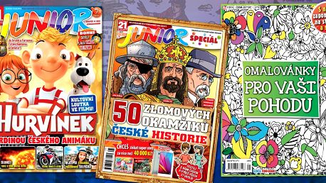 Roční předplatné dětského časopisu Junior