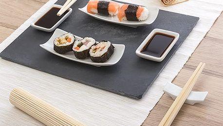 Set na Sushi s Břidlicovým Tácem 11 částí