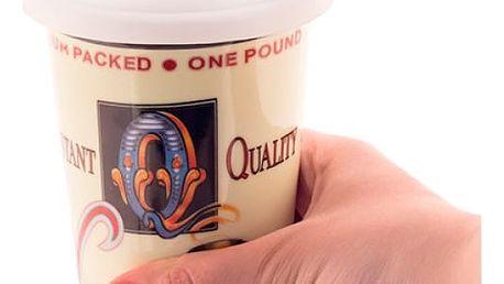 Keramický hrnek na kávu s víčkem