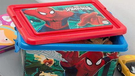 Box na Hračky Spiderman 32 x 23 cm