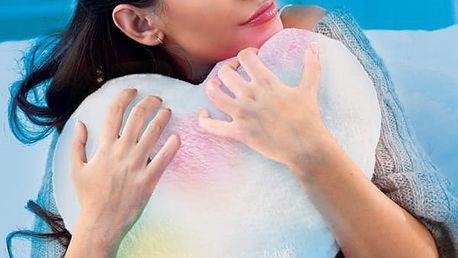 LED Polštář ve Tvaru Srdce Glow Pillow