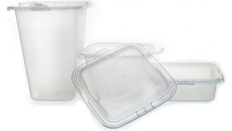 Sada Plastových Nádob 20 Kusů