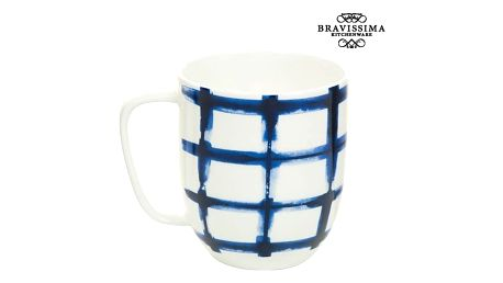 Cup Porcelán Trgovi Bílý - Kitchens Deco Kolekce by Bravissima Kitchen