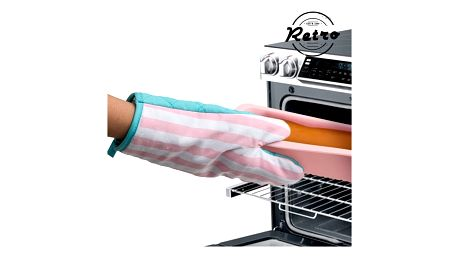 Retro Kuchyňská Rukavice