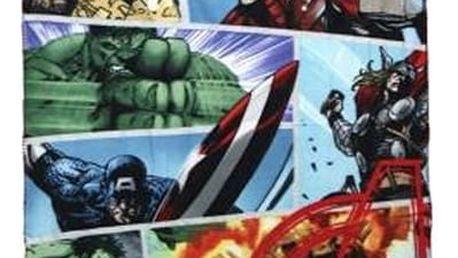 Flaušová deka The Avengers 600