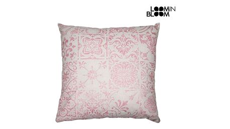 Polštářek Růžový 60 x 60 cm - Queen Deco Kolekce by Loom In Bloom