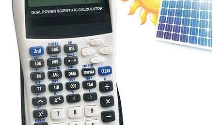 Vědecká Kalkulačka na Solární Baterie