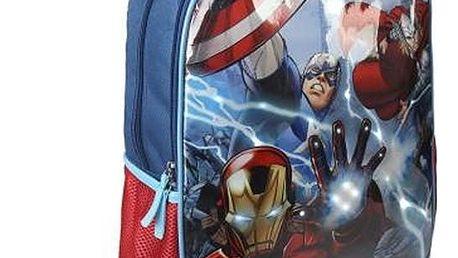 Školní batoh s LED The Avengers 969