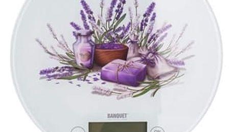 Kuchyňská váha Lavender Banquet do 5 kg