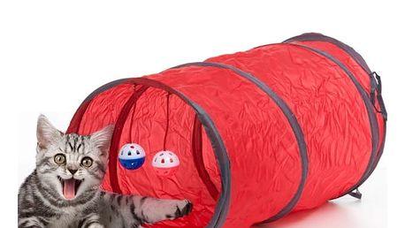 Tunel s Hračkami pro Kočky Pet Prior 3 části