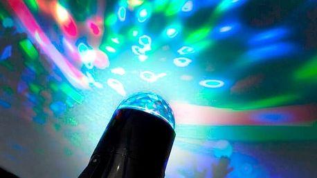Barevný LED Projektor B Party