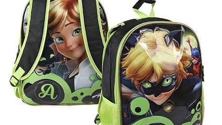 Oboustranný školní batoh Lady Bug 044