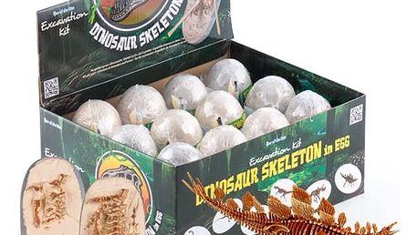 Hra na Vykopávky s Dinosauřím Vajíčkem a Kostrou Junior Knows