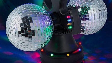 Dvojitá Zrcadlová Disco Koule
