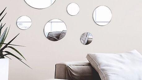 Nalepovací Zrcadla Geometry Oh My Home 7 kusů