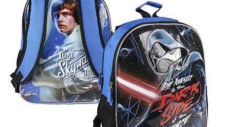 Oboustranný školní batoh Star Wars 839