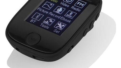 MP3 přehrávač GoGEN MXM 421 GB4 BT černý