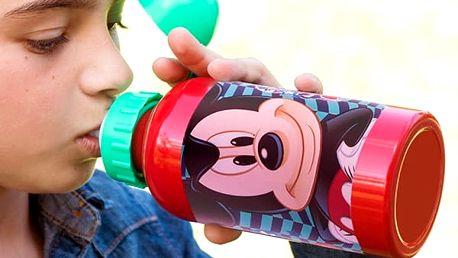 Dětská Hliníková Láhev Mickey