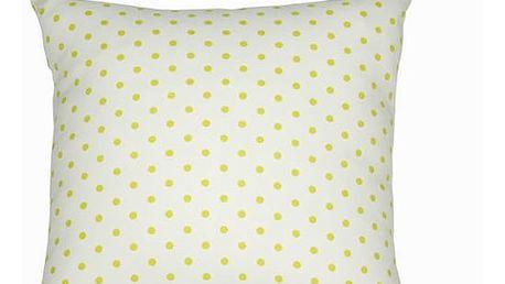 ZelenÝ polŠtÁŘek s puntÍky 45x45 - Little Gala Kolekce by Loom In Bloom