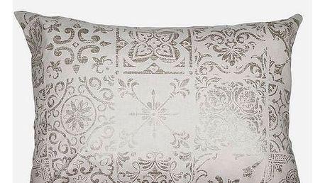 Polštářek Béžový 50 x 70 cm - Queen Deco Kolekce by Loom In Bloom