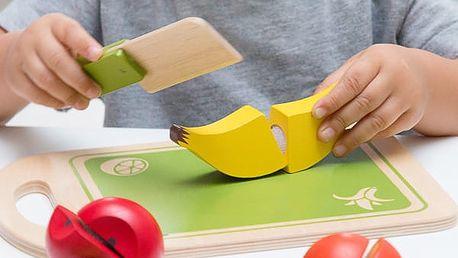 Dřevěná Edukační Hra Ovoce 12 částí