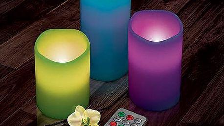 EmotiCandle LED Svíčky 3 kusy v balení