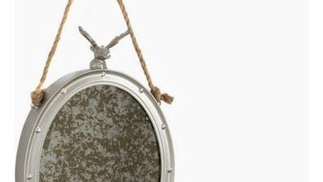 Kovové zrcadlo a provaz by Homania