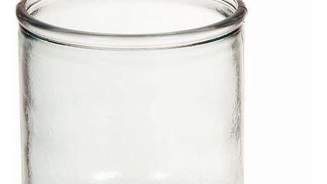 Váza z recyklovaného skla Hladký Nízký - Pure Crystal Kitchen Kolekce by Bravissima Kitchen