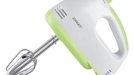 Ruční šlehač Scarlett SC-HM40S05 bílý/zelený