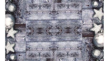BO-MA Trading Ubrus Vánoční ozdoby, 85 x 85 cm
