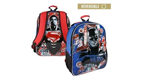 Oboustranný školní batoh Batman vs Superman 860