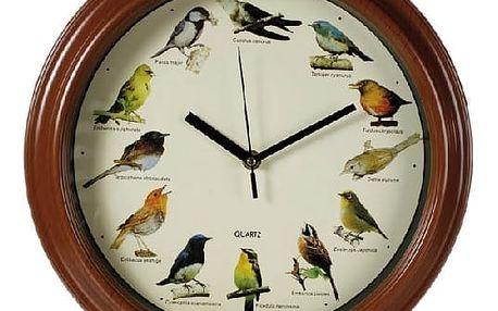 Švitořící nástěnné hodiny