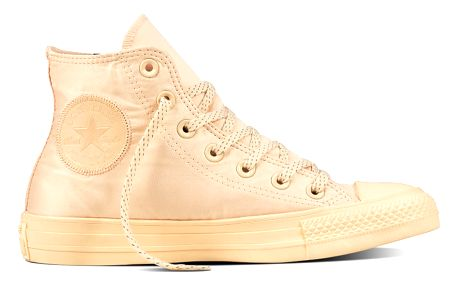 Converse světlé tenisky Chuck Taylor All Star Hi Orange Quartz